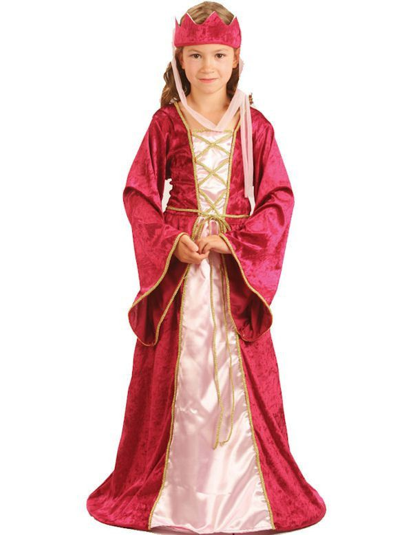 Renaissance Koningin Meisje Kostuum