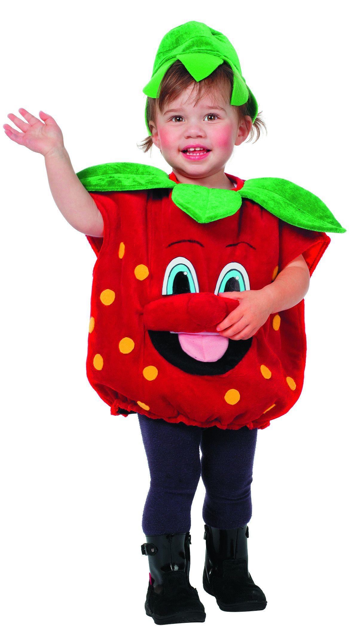Lekker Fruitige Aardbei Baby Kind Kostuum