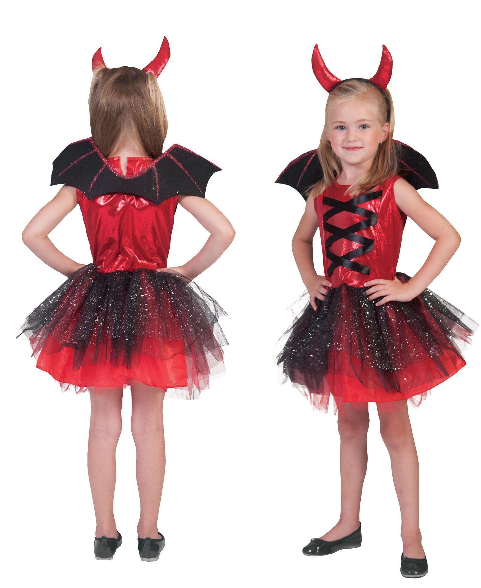 Develarix Duivel Meisje Kostuum