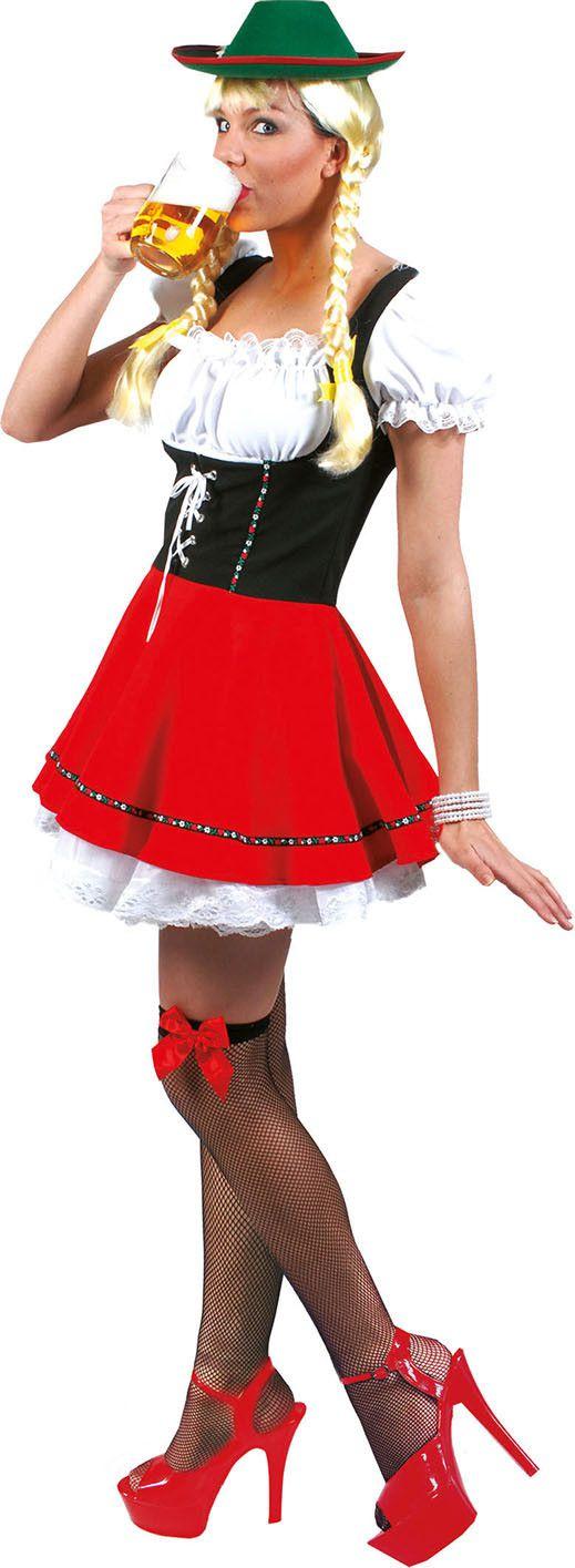 Beate Biergarten Babe Vrouw Kostuum