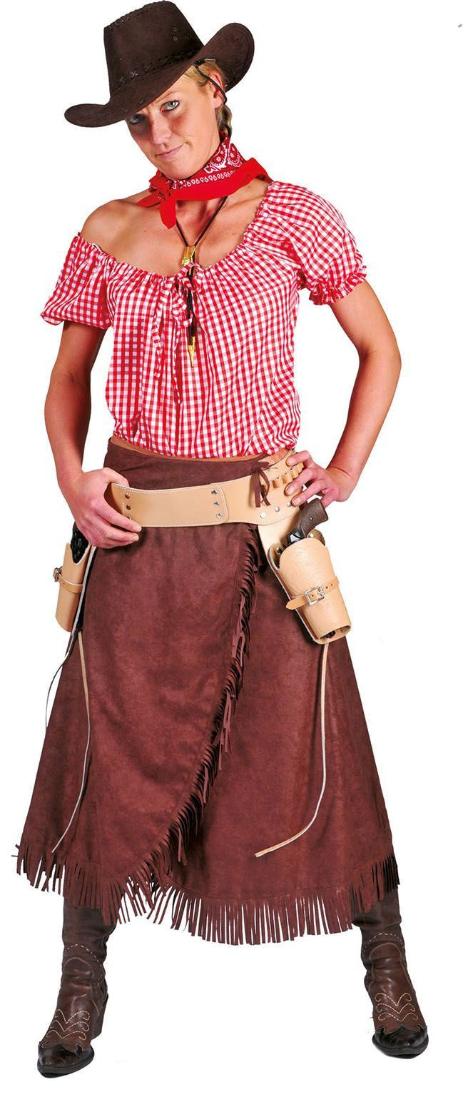 Dana De Stoere Cowgirl Vrouw Kostuum