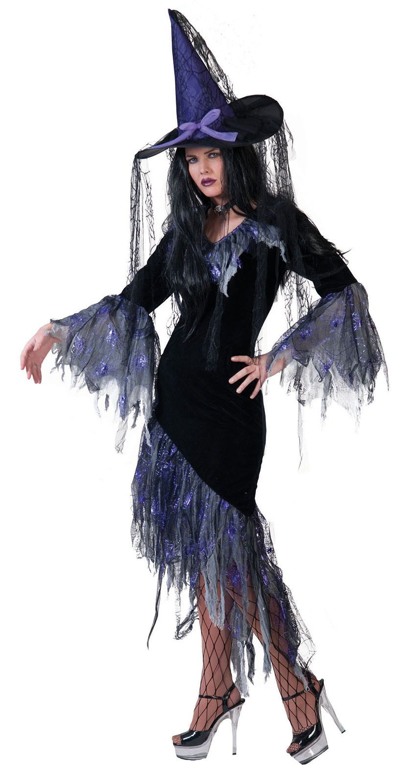 Belinda De Donkere Heks Vrouw Kostuum