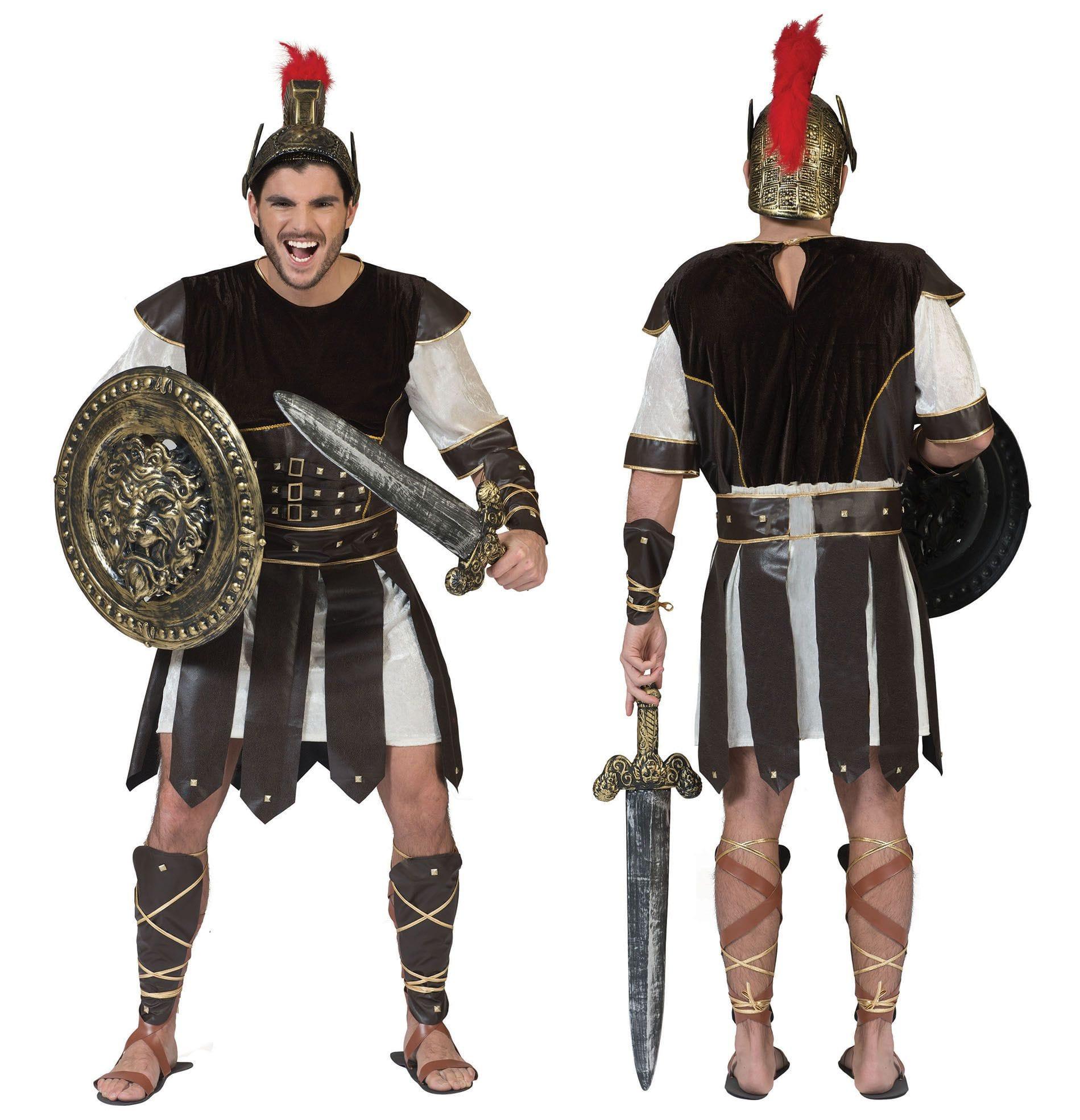 Trojano De Romeinse Strijder Man Kostuum