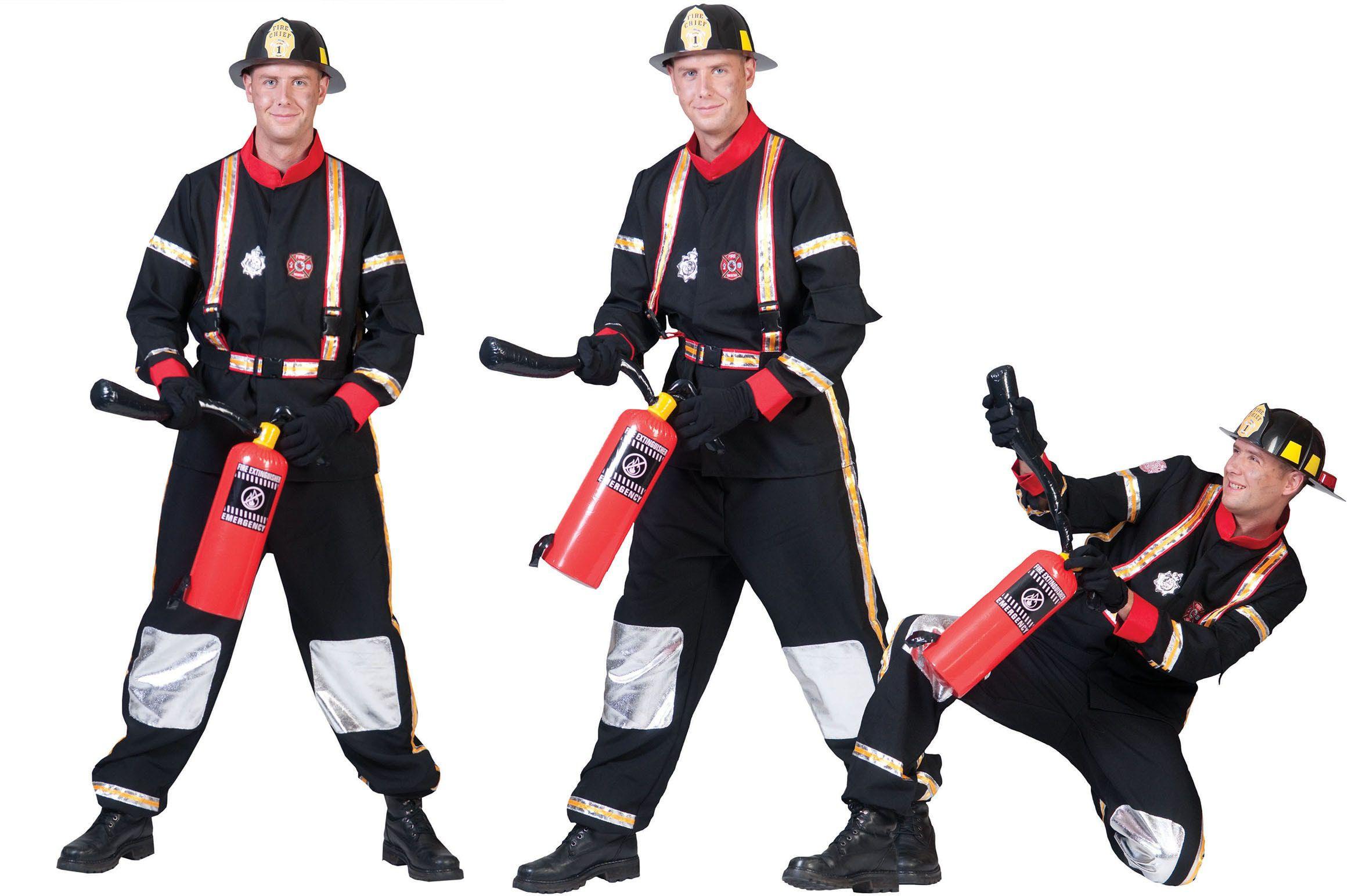 Heldhaftige Brandweerman Tom Kostuum