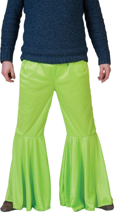 Hippie Broek Groen Man