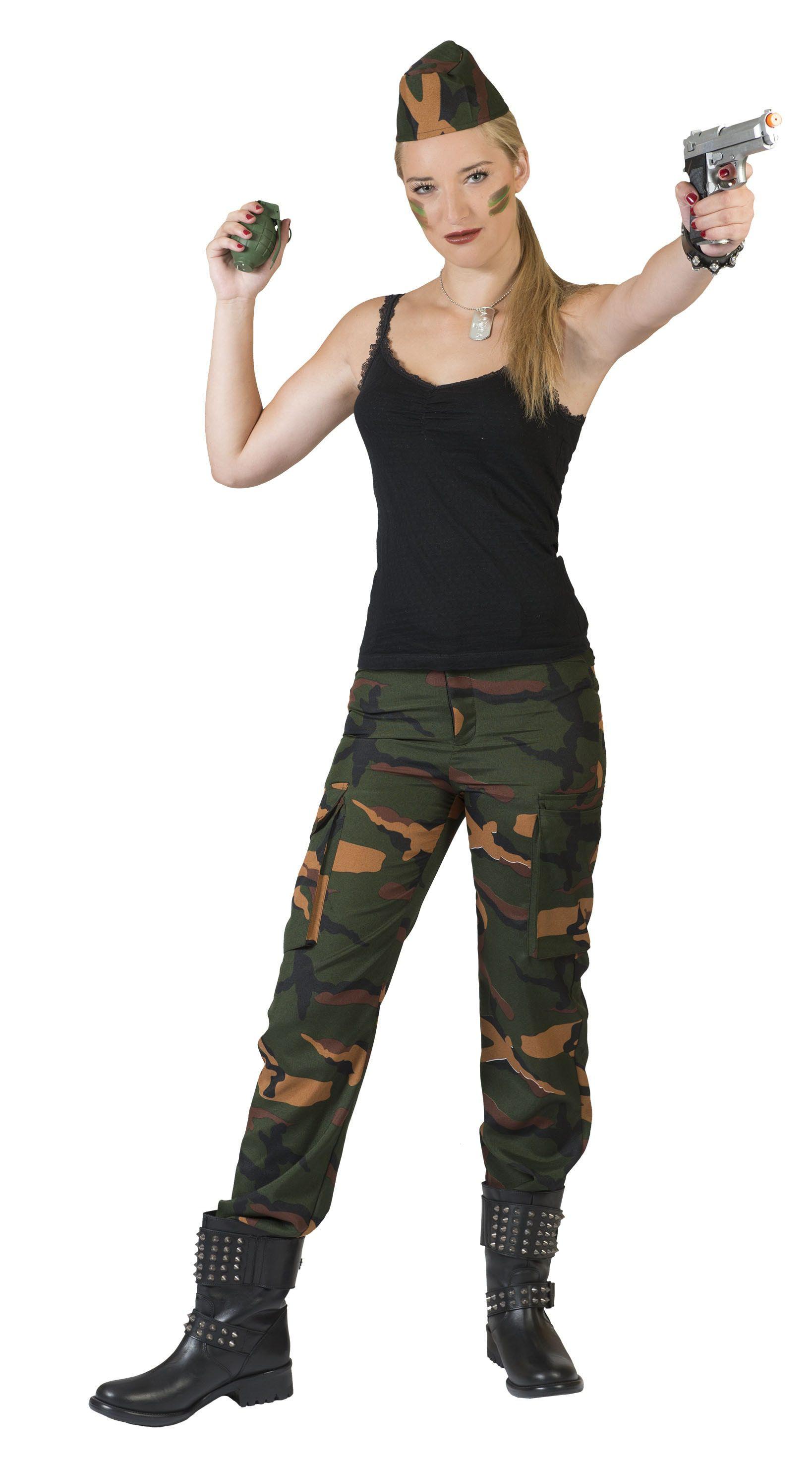 Leger Dame Jenny Vrouw Kostuum