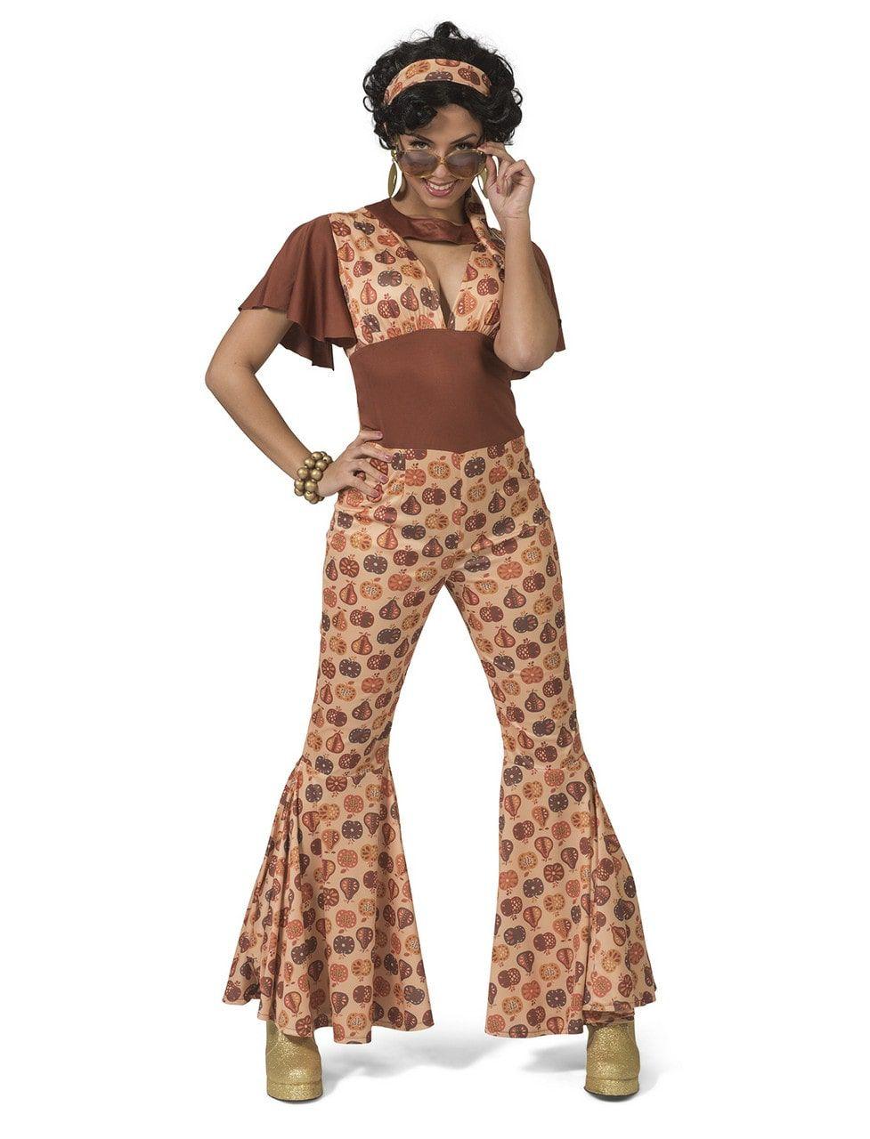 Jaren 70 Appels En Peren Fruit Vrouw Kostuum