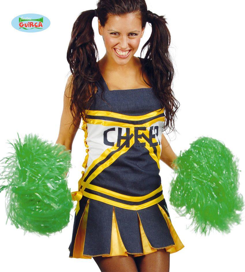 Pompon Cheerleader Groen