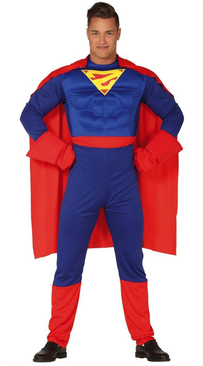 Stalen Spieren Held Man Kostuum