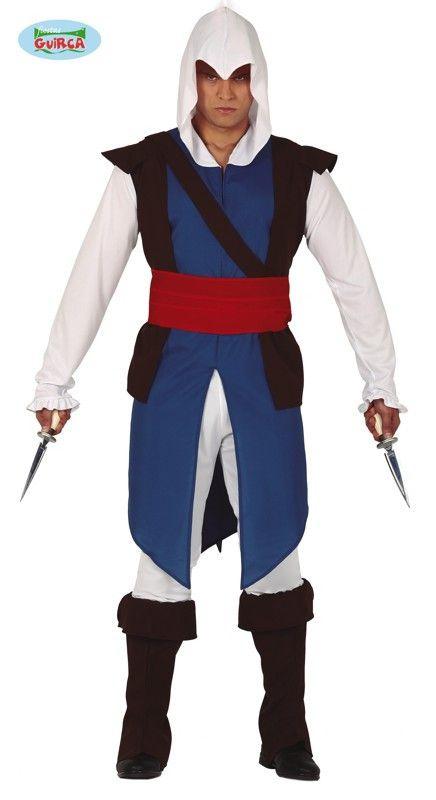 Vlijmscherpe Dodelijke Oosterse Strijder Man Kostuum