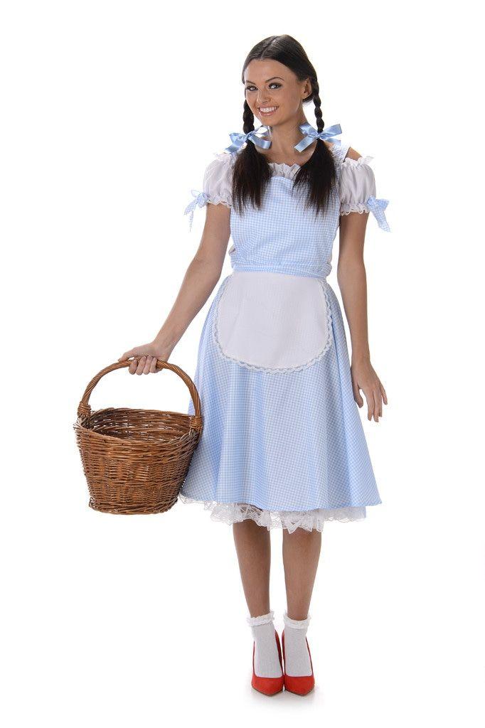 Dorothy Gale Uit Oz Film Vrouw Kostuum