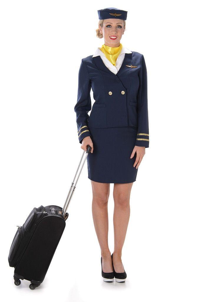 Altijd In De Lucht Stewardess Vrouw Kostuum