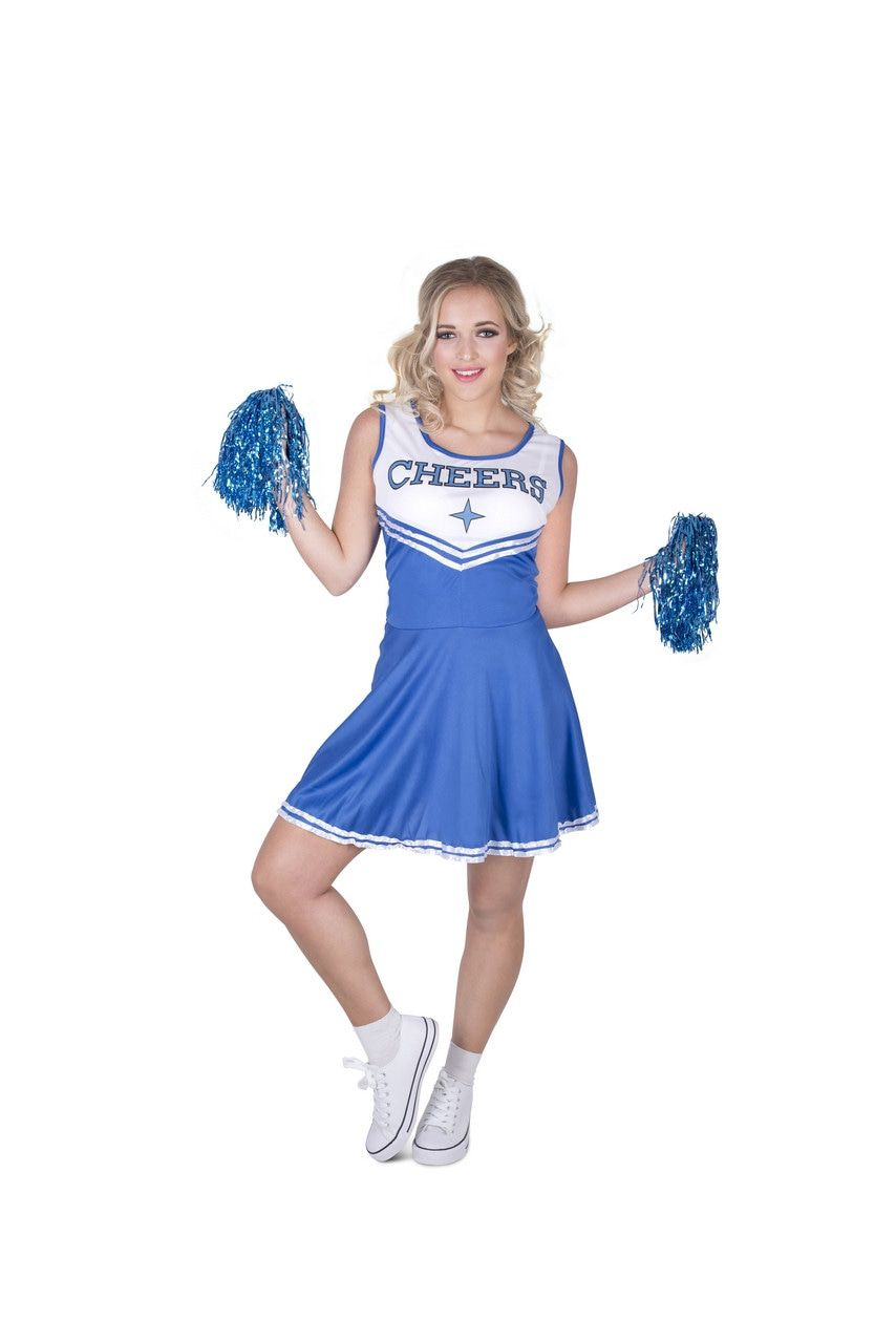 Tumbling Cheerleader USA Vrouw Kostuum