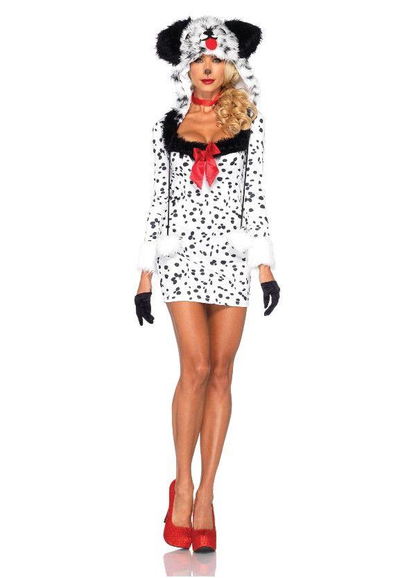 Sexy Dalmatier Jurk Vrouw