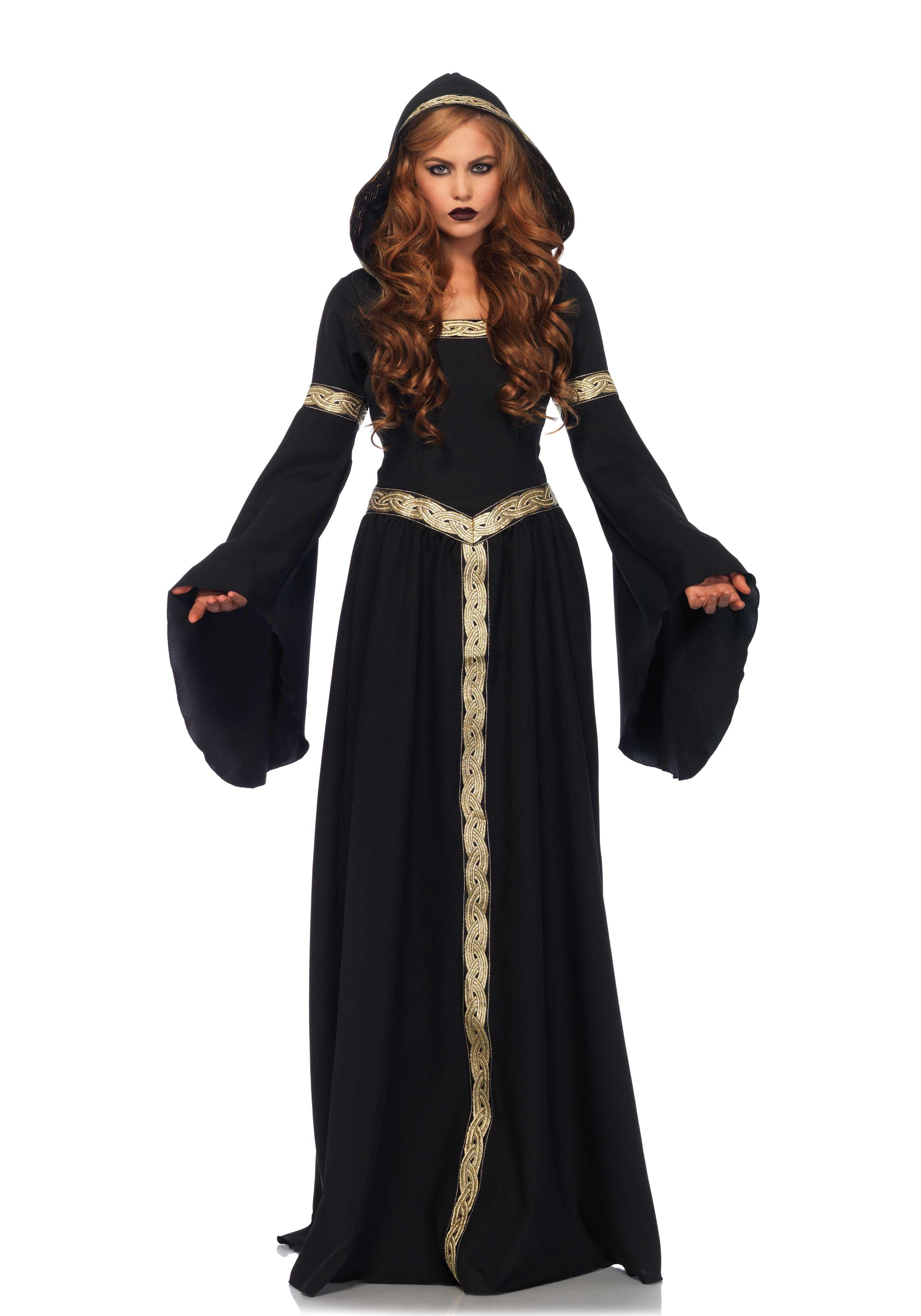 Gothische Koningin Vrouw Kostuum