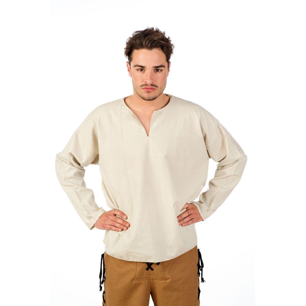 Overhemd Boezeroen Boer Vijftiende Eeuw Man