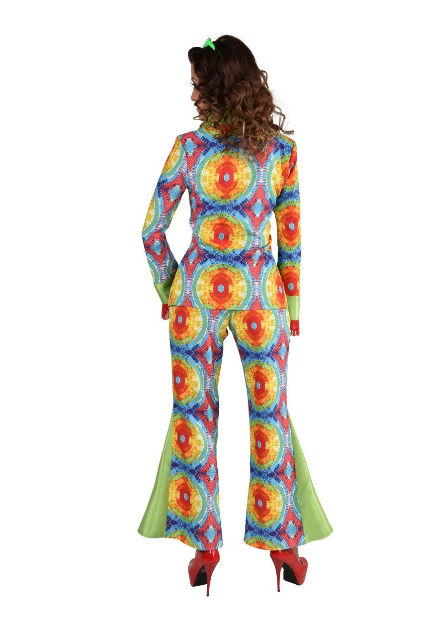 Jaren 60 Batik India Hippie Vrouw Kostuum