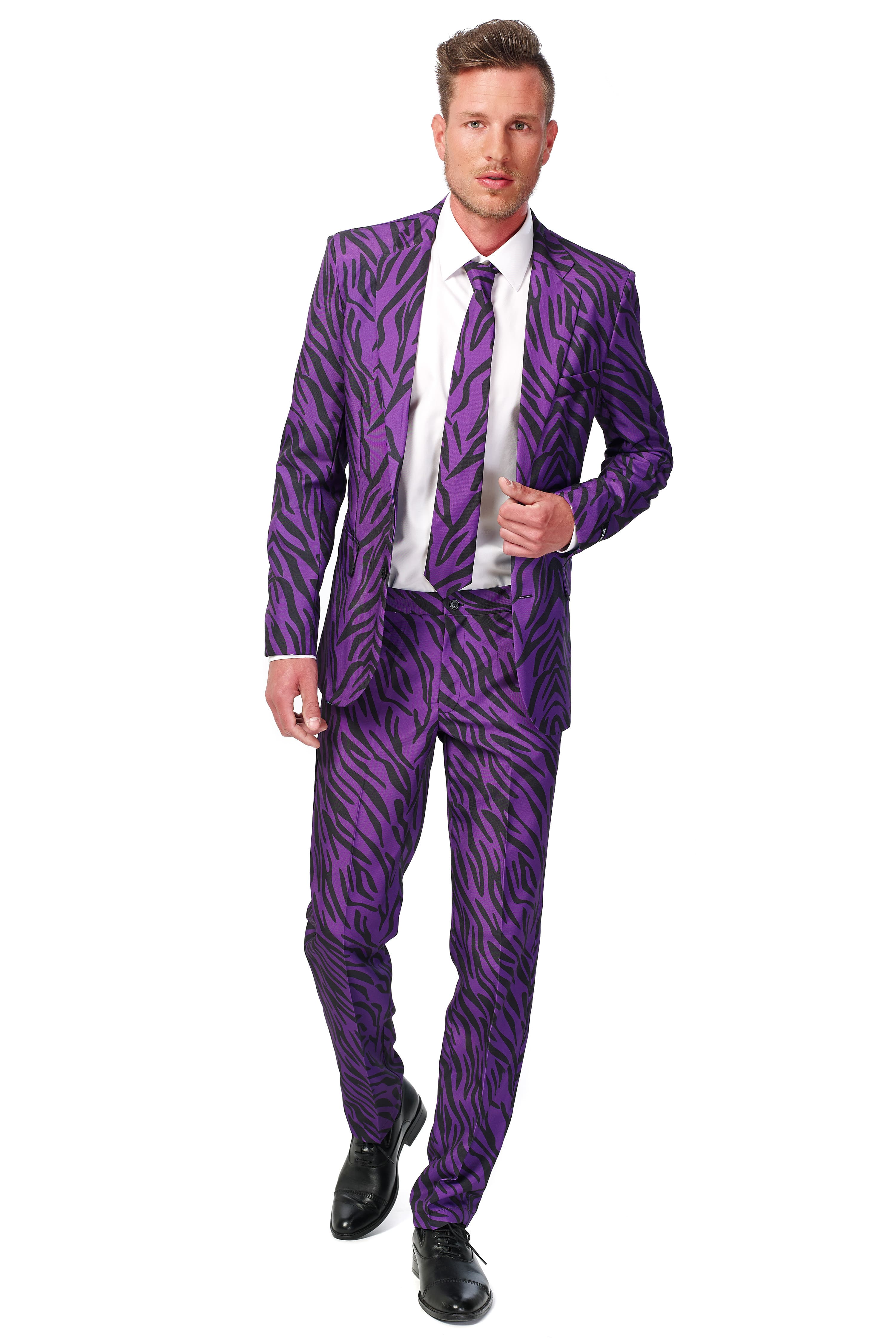 Lekker Foute Pimp Tiger Suitmeister Kostuum Man