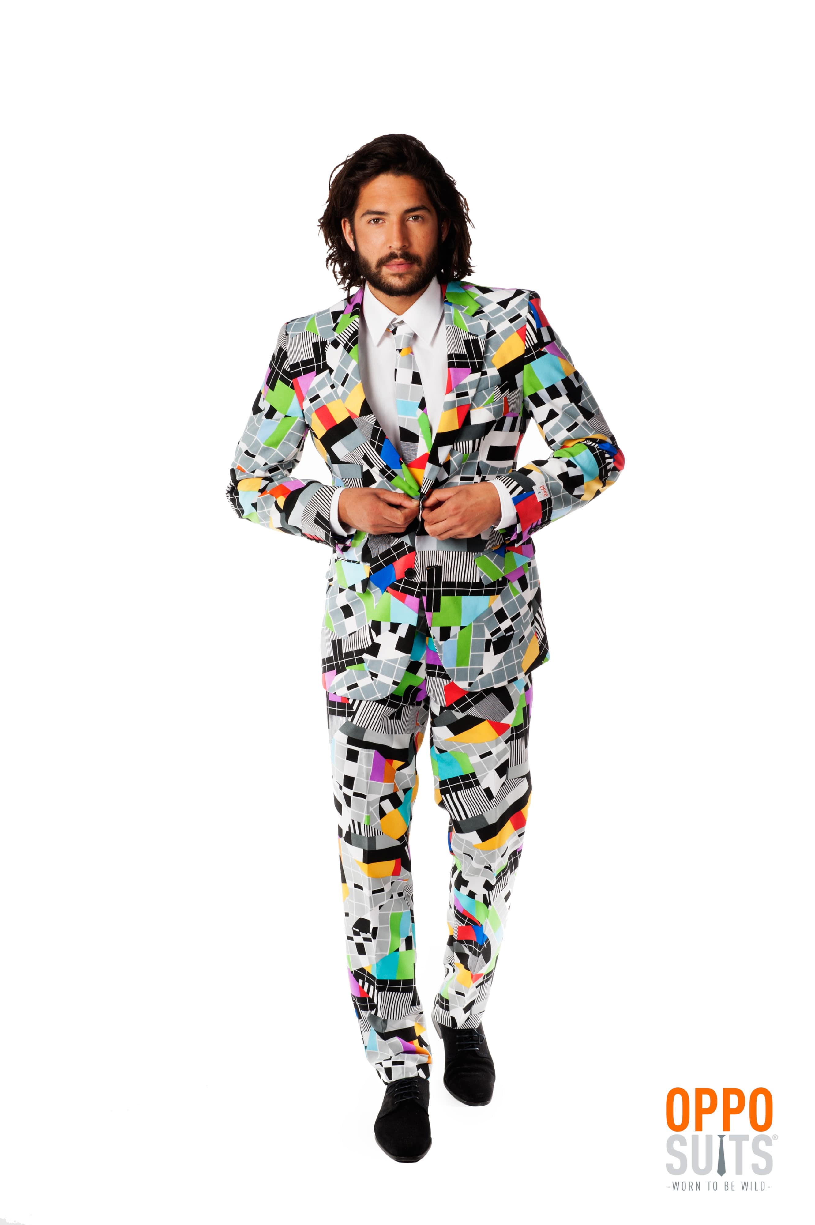 Testival Testbeeld Opposuit Kostuum Man