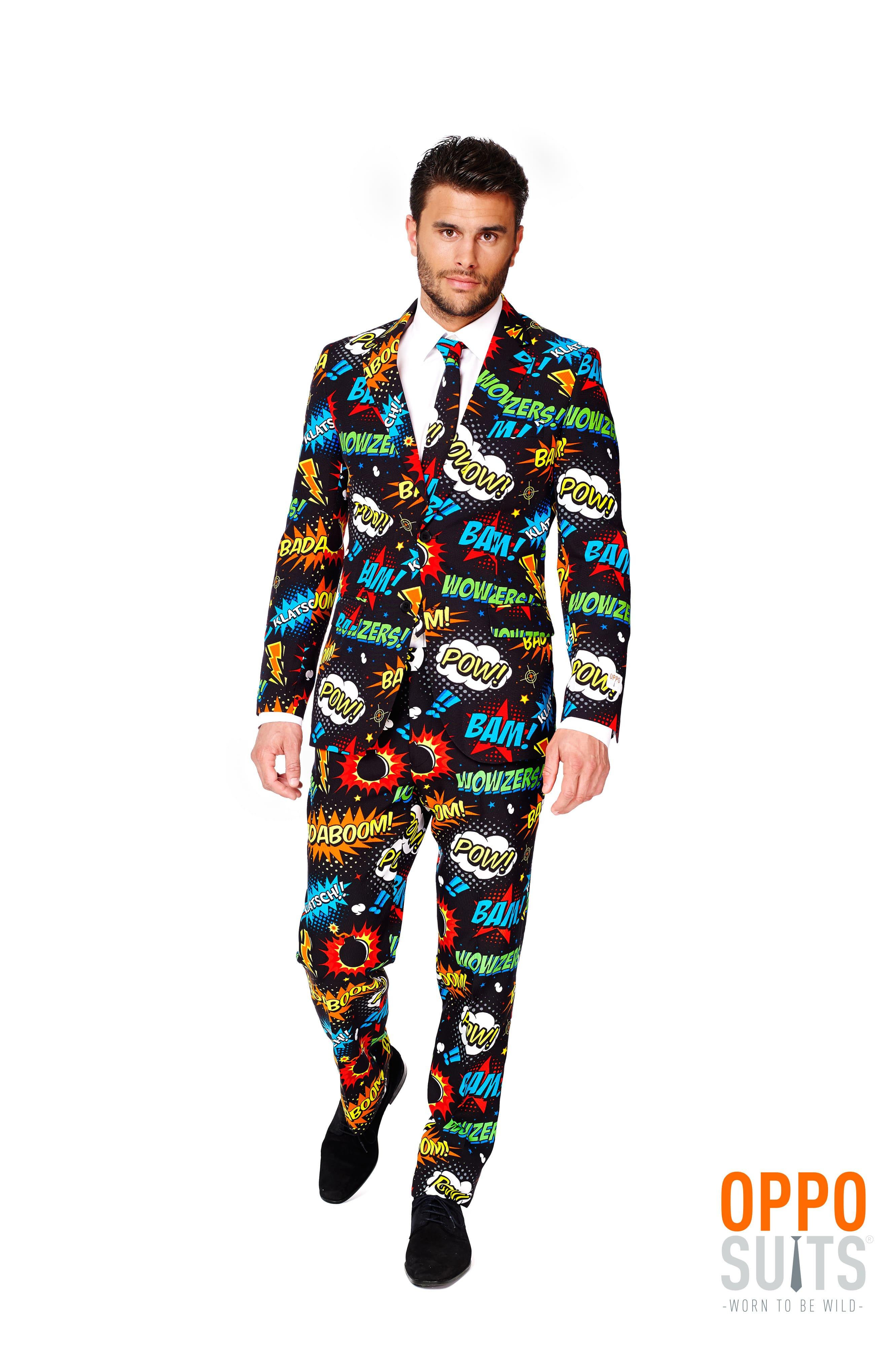 Comic Badaboom Opposuit Kostuum Man