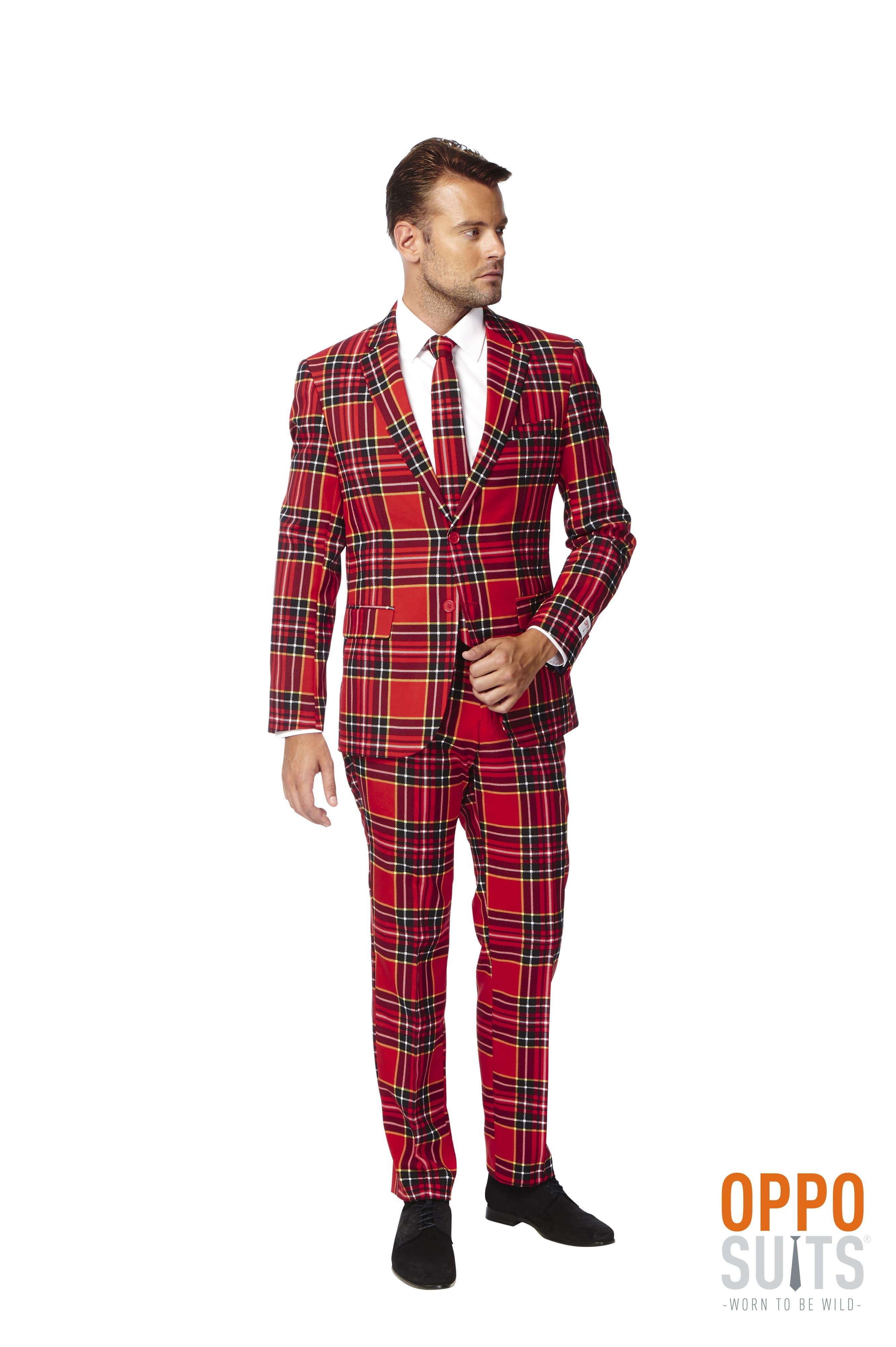 The Lumberjack Opposuit Kostuum Man
