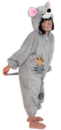 Wollig Ratje Kind Kostuum