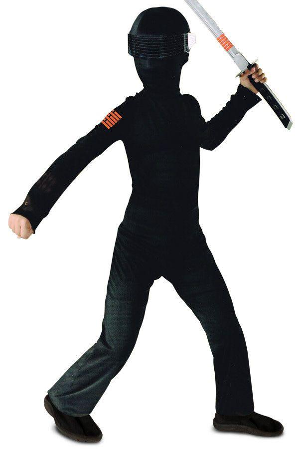 Gi Joe Snake Eyes Hasbro The Rise Of Cobra Jongen Kostuum