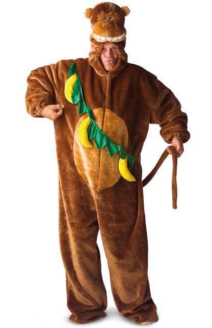 Gordon De Gorilla Met Bananen Kostuum