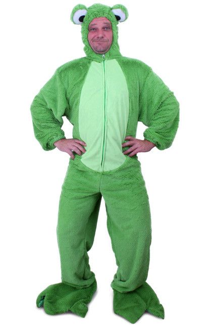 Springerige Kikker Pluche Kostuum