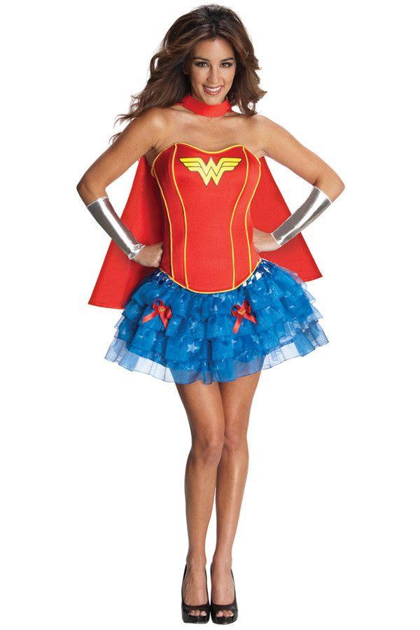Wonder Woman Superheldin Korset Vrouw Kostuum