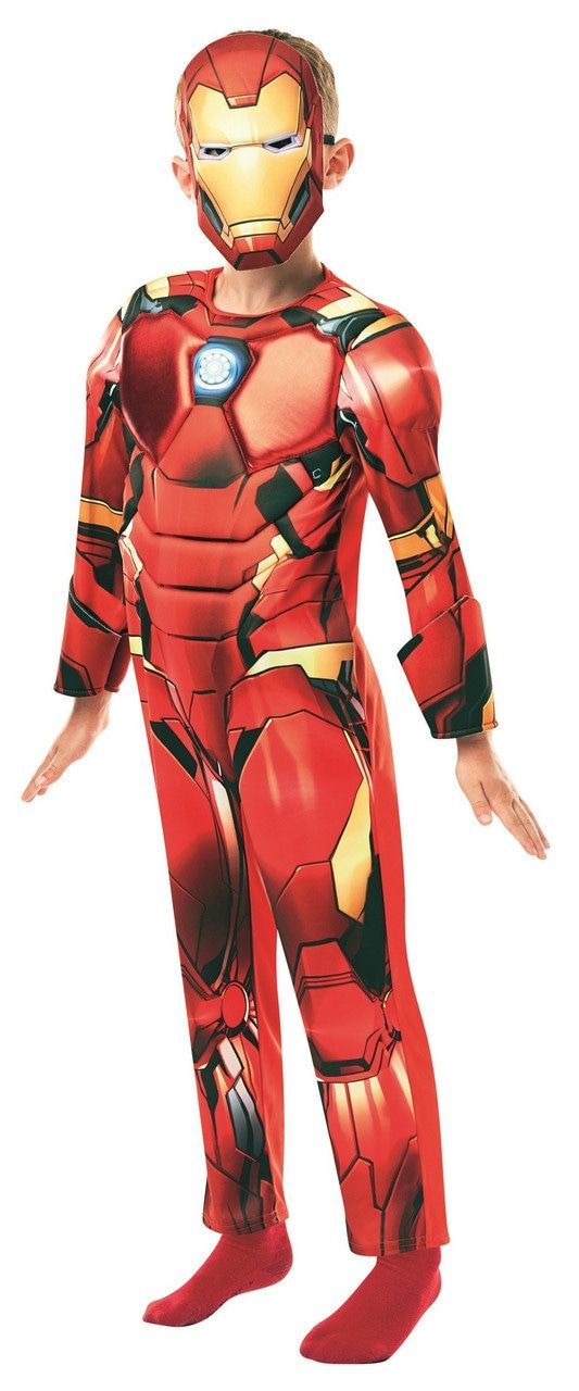 IJzersterke Iron Man Avengers Assemble Deluxe Kind Kostuum