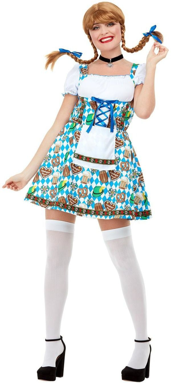 Sexy Oktoberfest Kleintje Pils Vrouw Kostuum