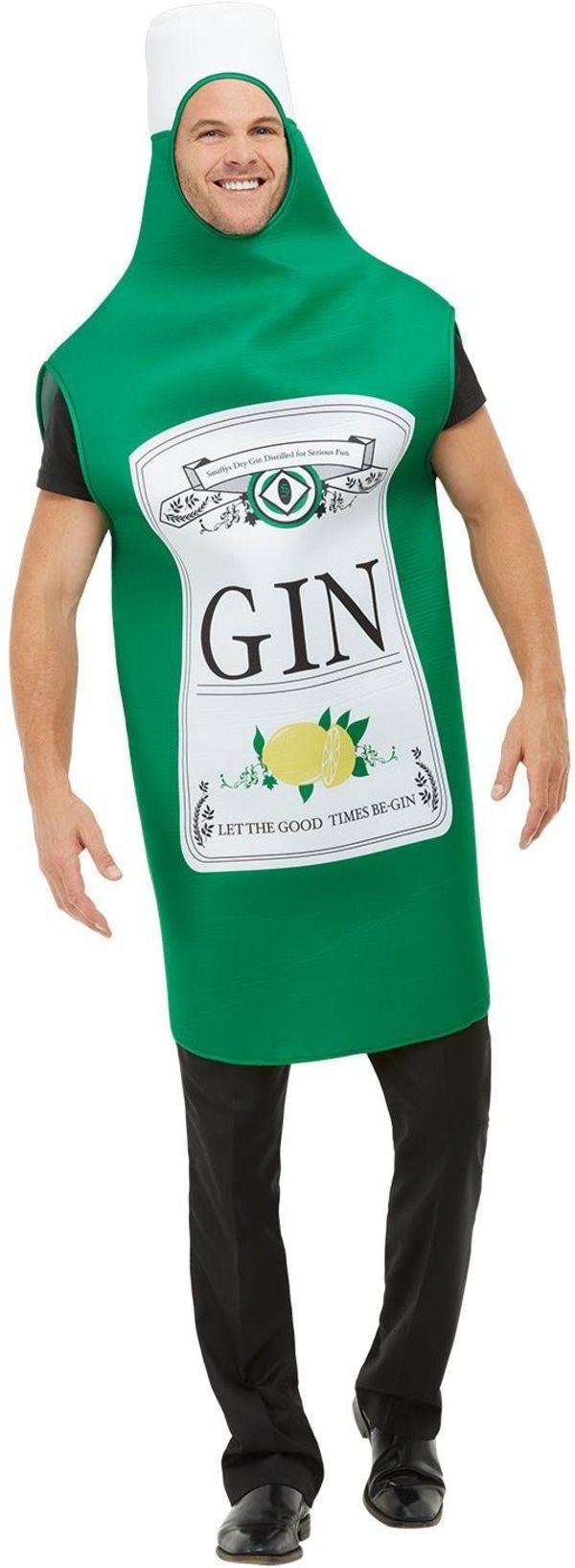 Gin Fles Drank Kostuum