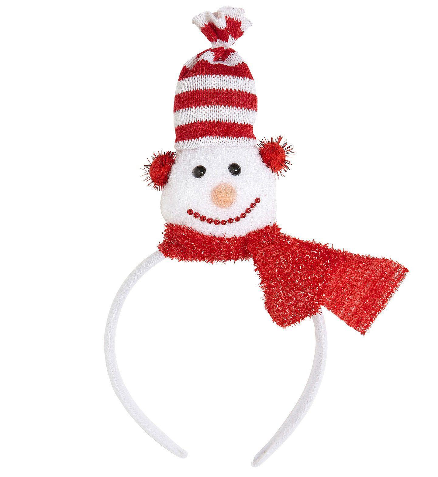 Hoofdband Sneeuwpop Rode Sjaal