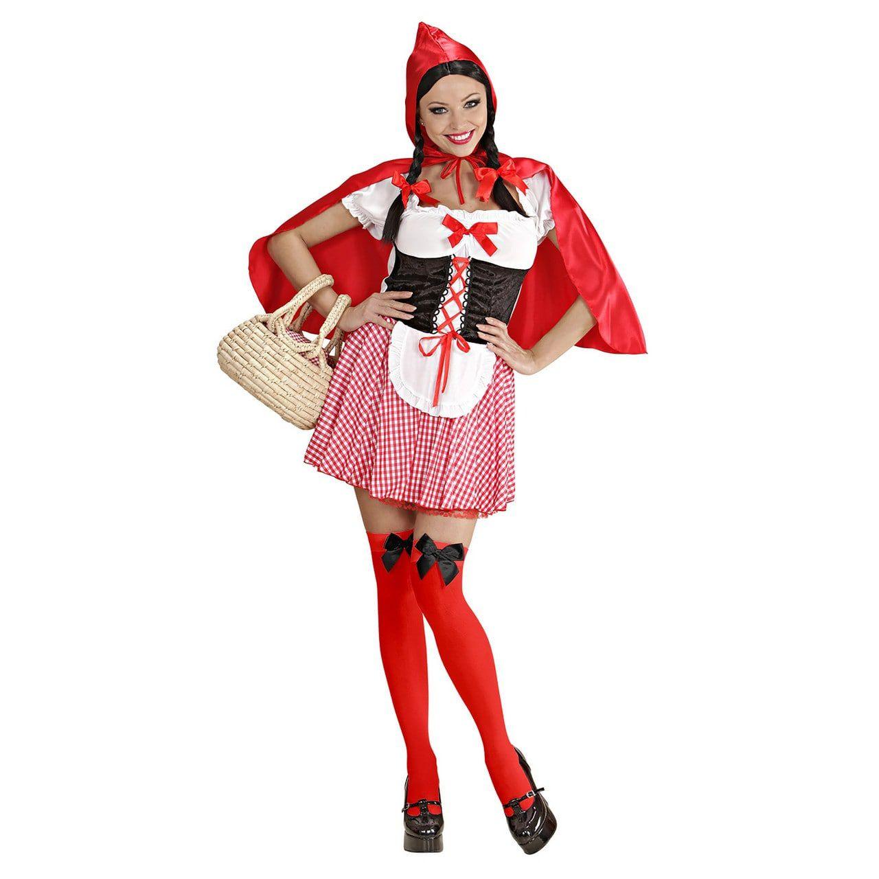 Roodkapje Evergreen Kostuum Vrouw