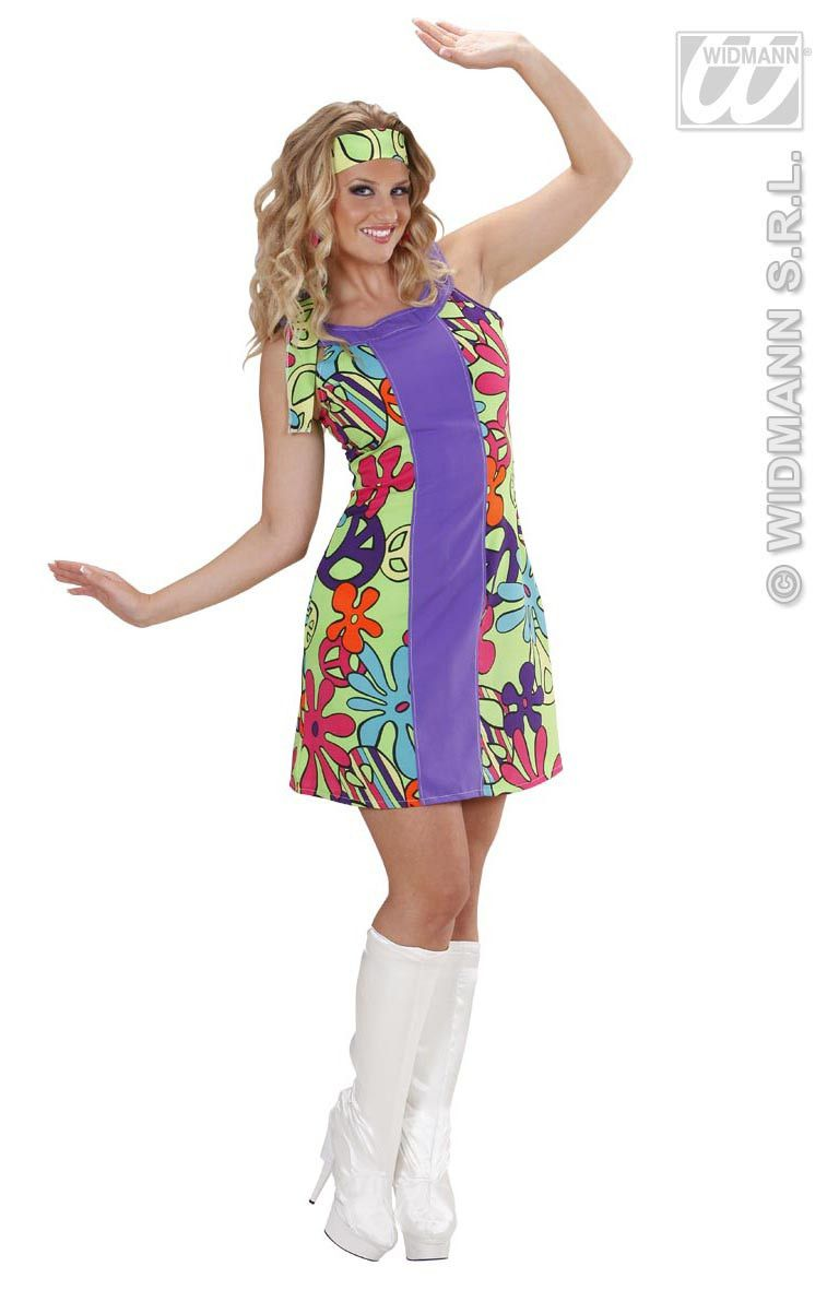 Go-Go Hippie Meisje Moonlight Kostuum Vrouw