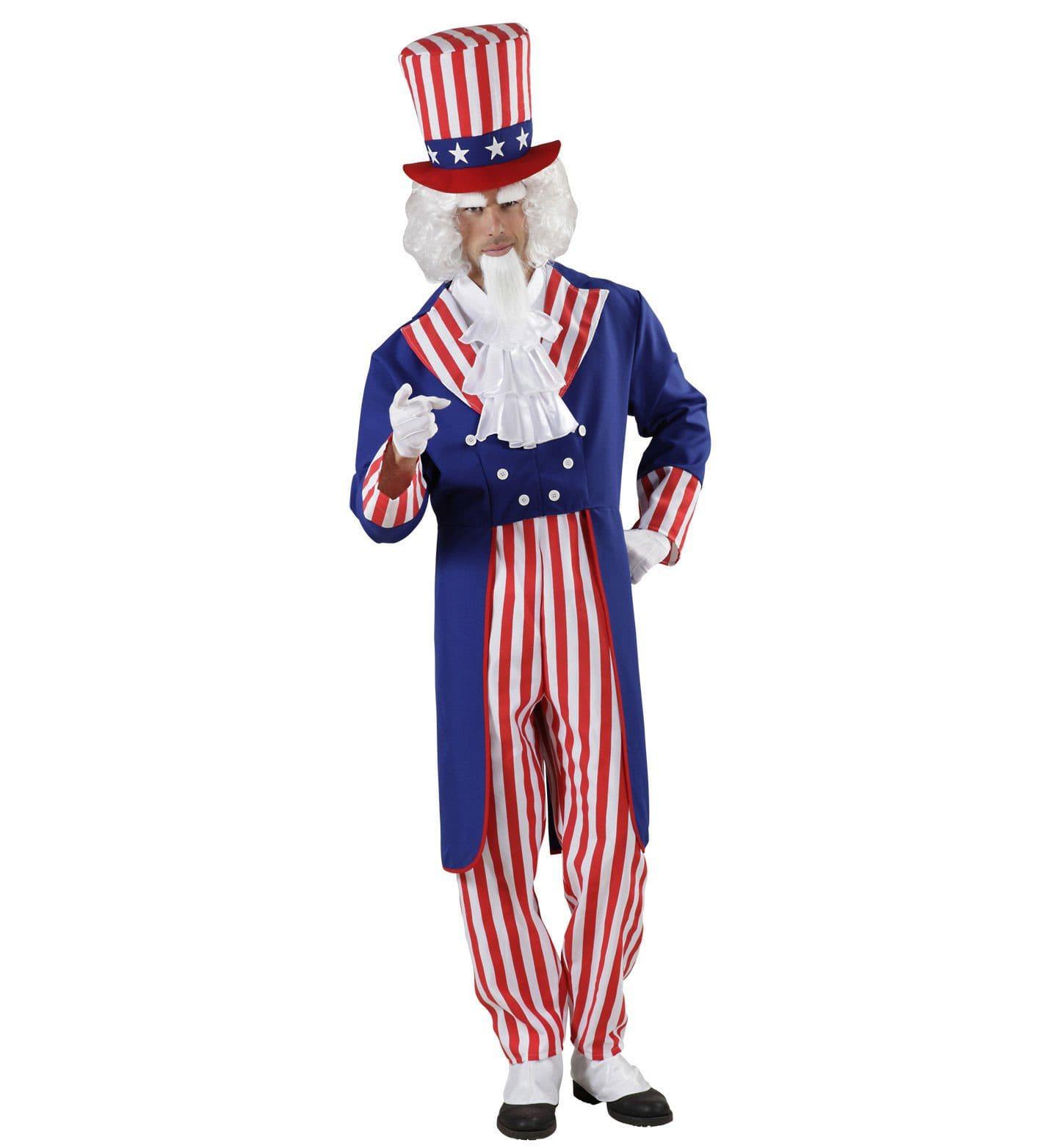 Uncle Sam Kostuum Man