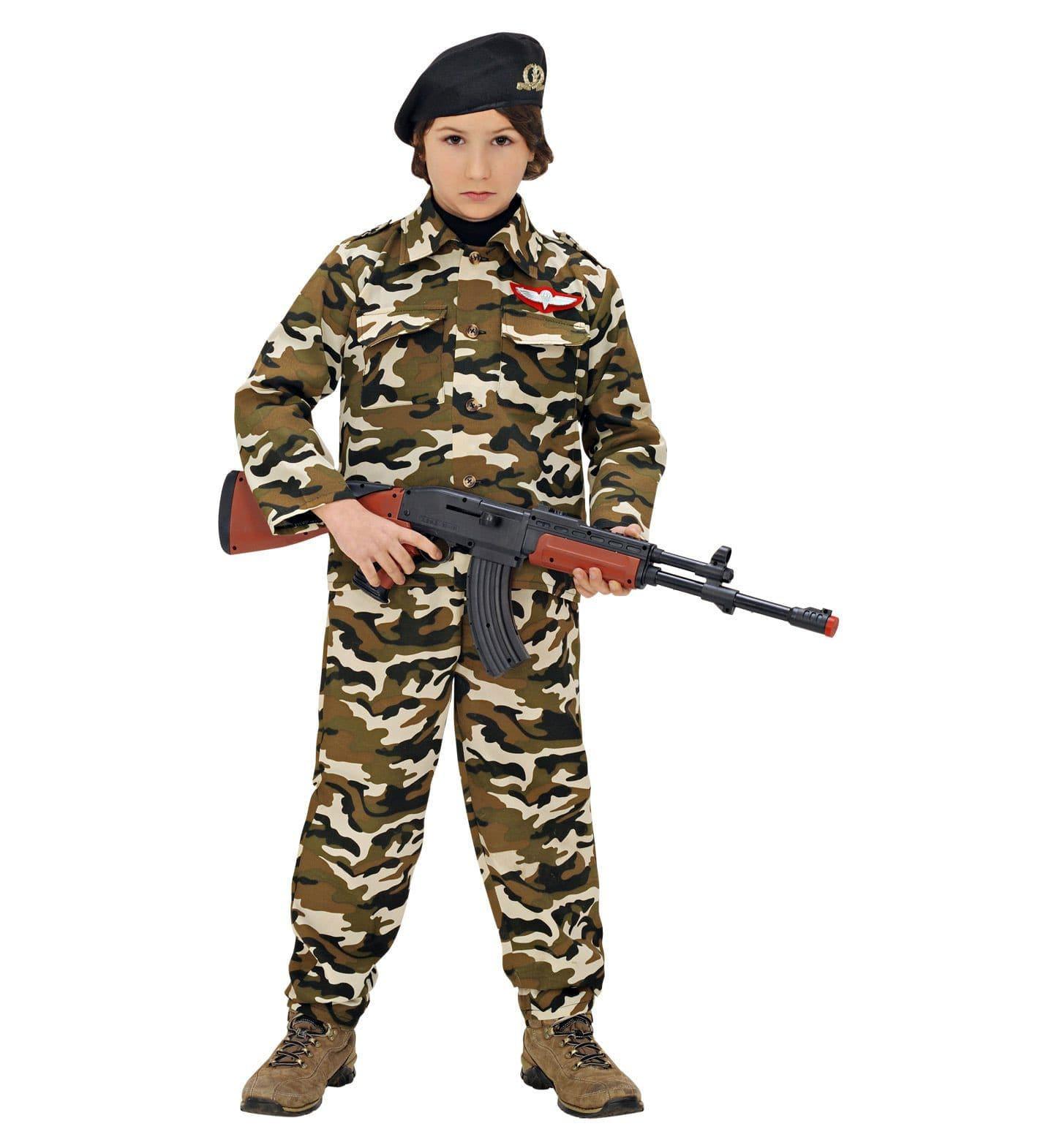 Rambo Soldaat Kind Kostuum Jongen