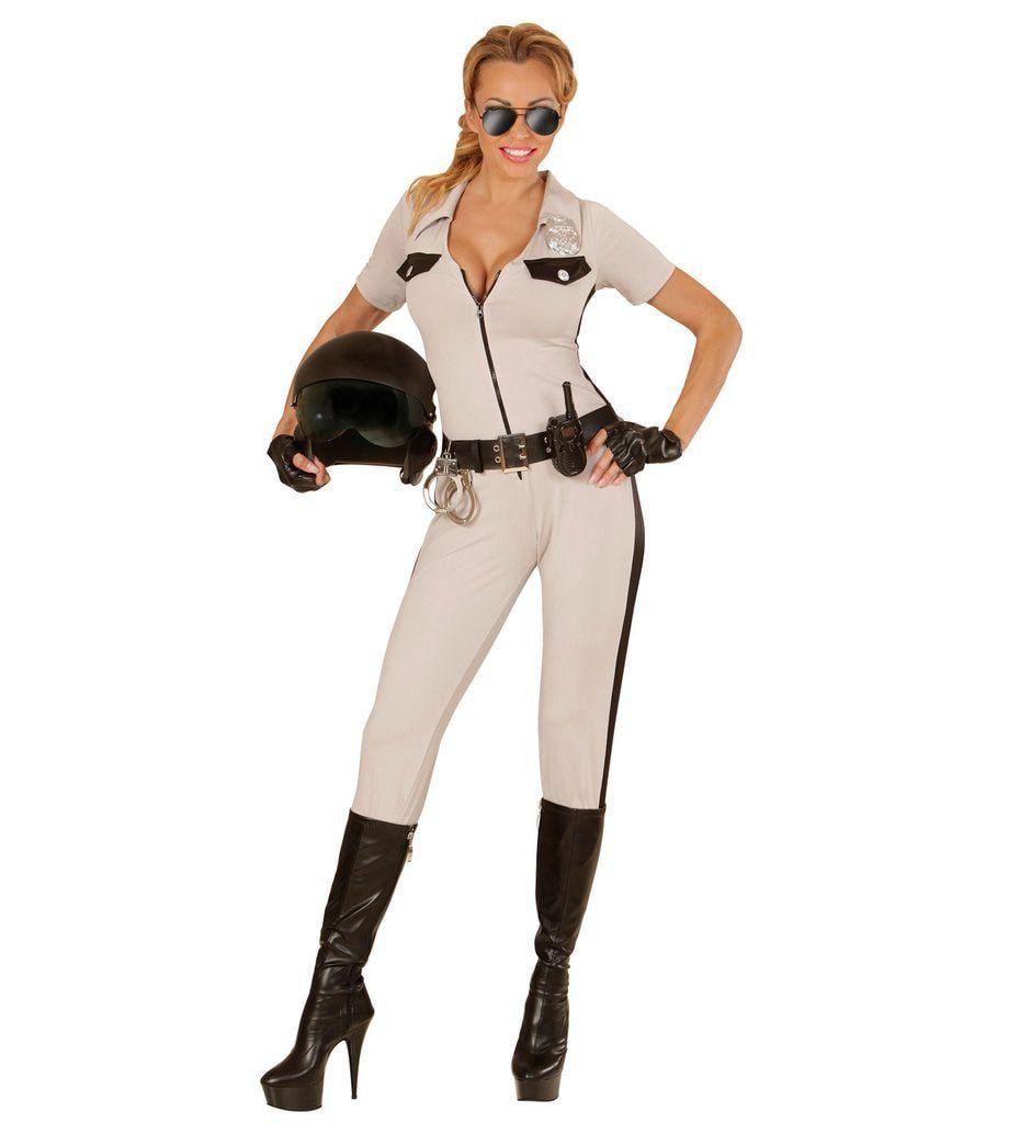 California High Patrol Hot Arrest Vrouw Kostuum
