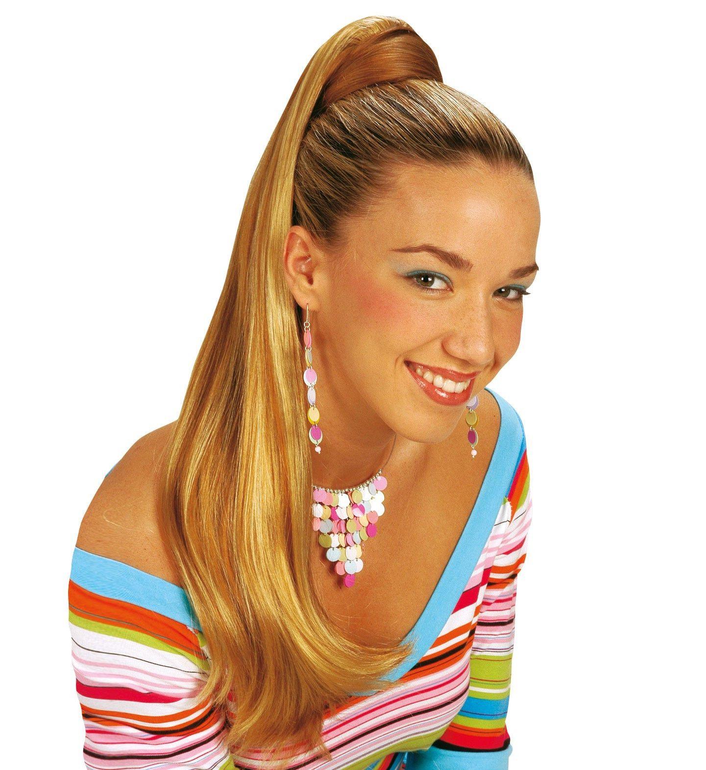 Staart Haar Extentie Sasha, Blond