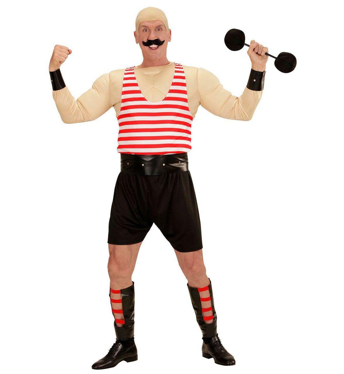 Sterke Circus Man Kostuum