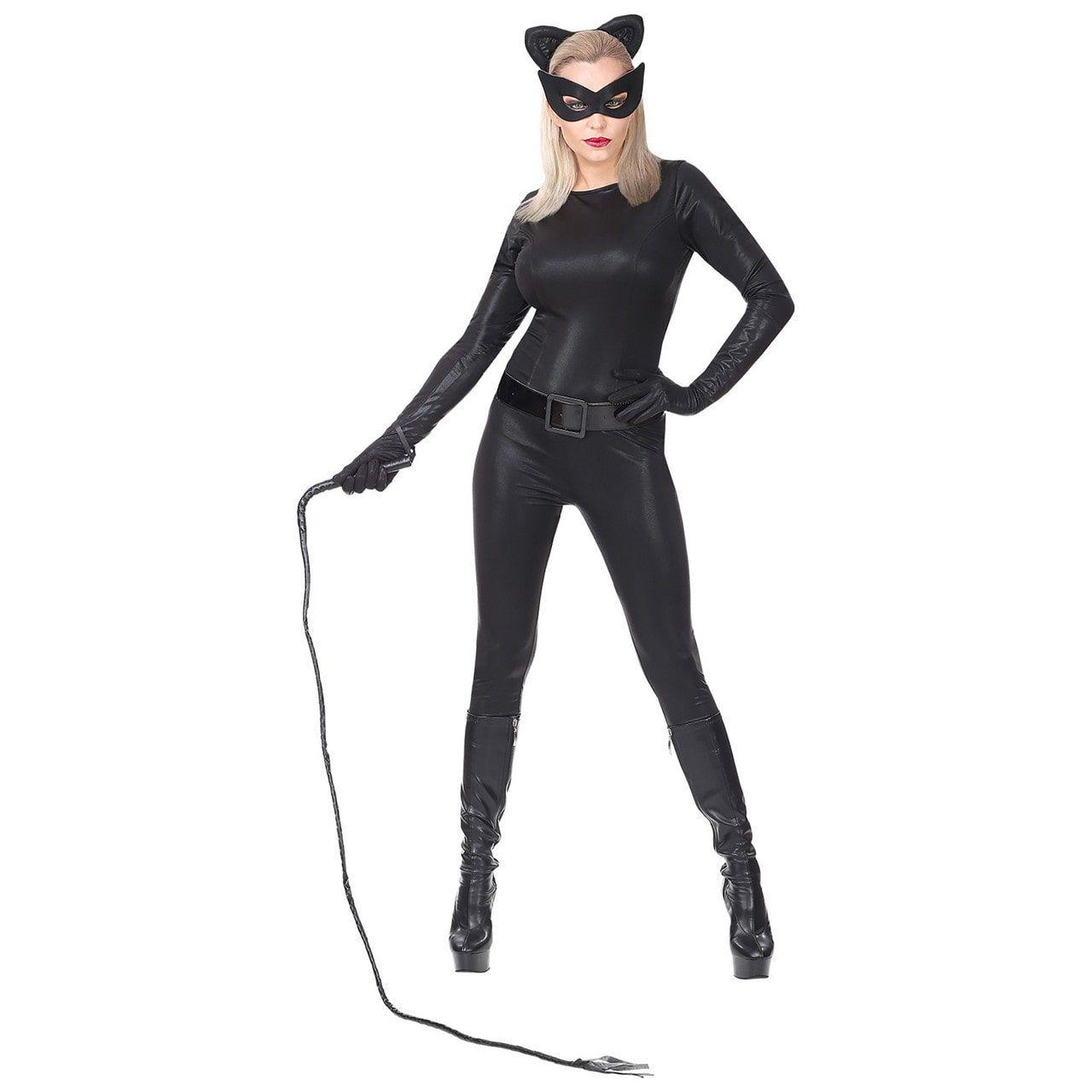Super Strak Kattenpak Vrouw Kostuum