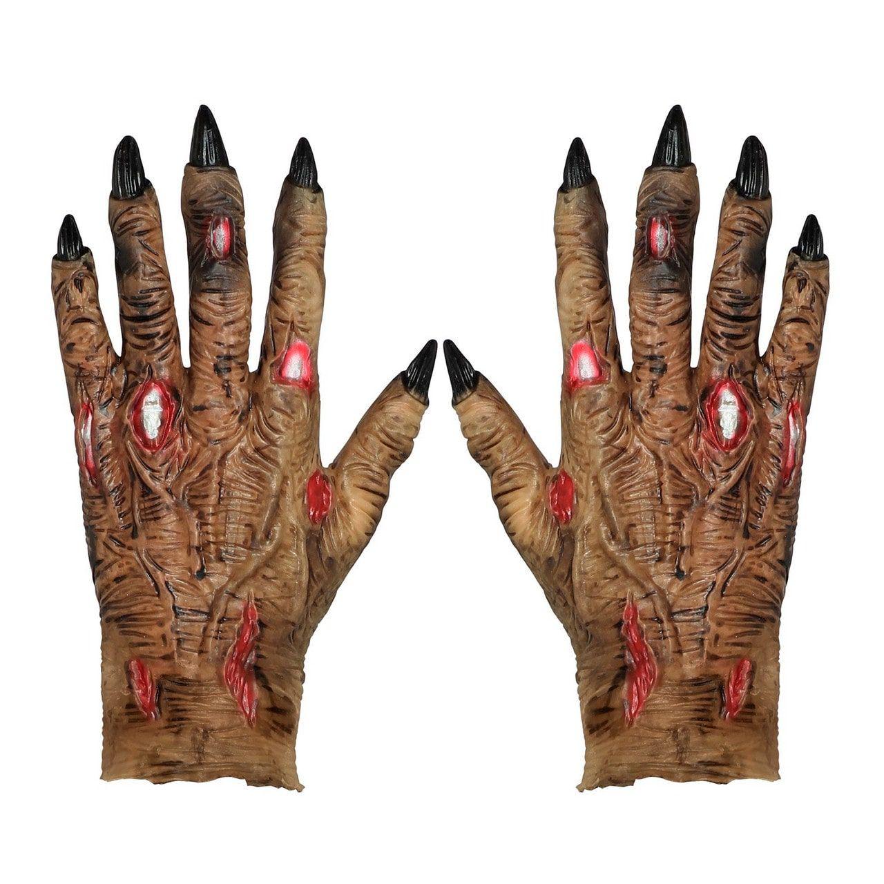 Horror Handschoenen Zombie Klauwen