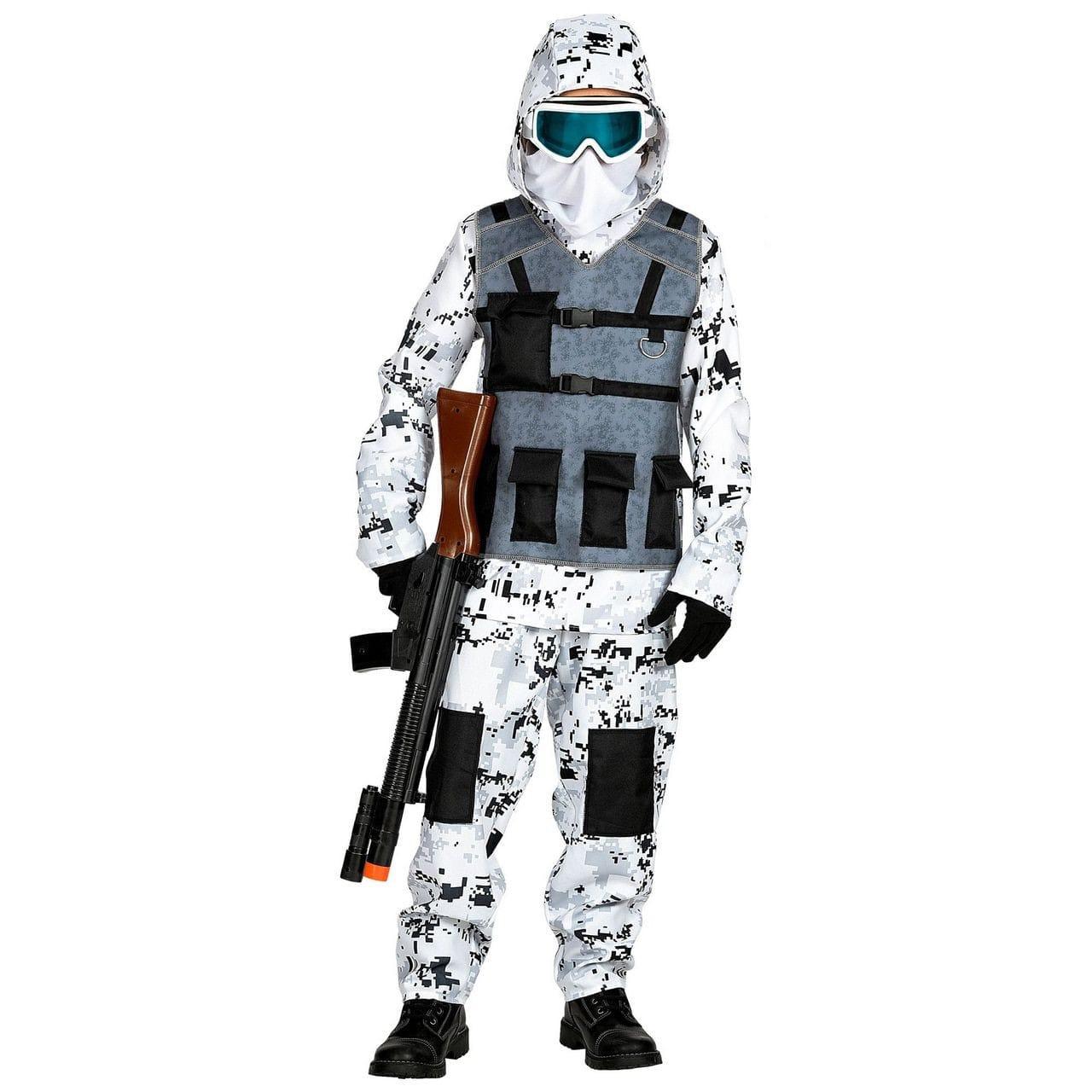 Arctische Speciale Eenheid Pool Commando Kind Kostuum