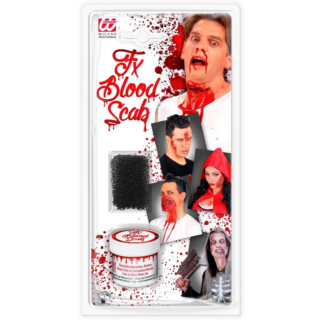 Horror Make-Up Set Bloed