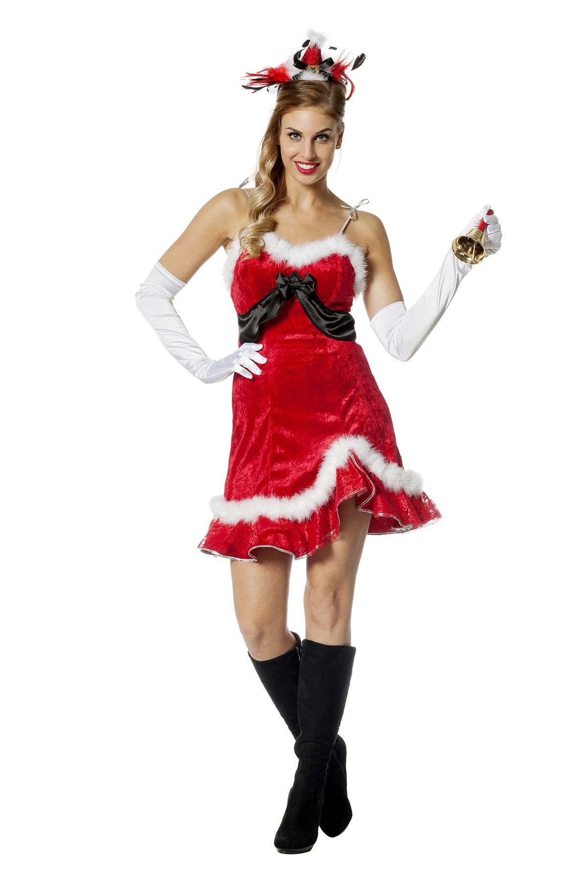 Pikant Kerstvrouwtje Kostuum