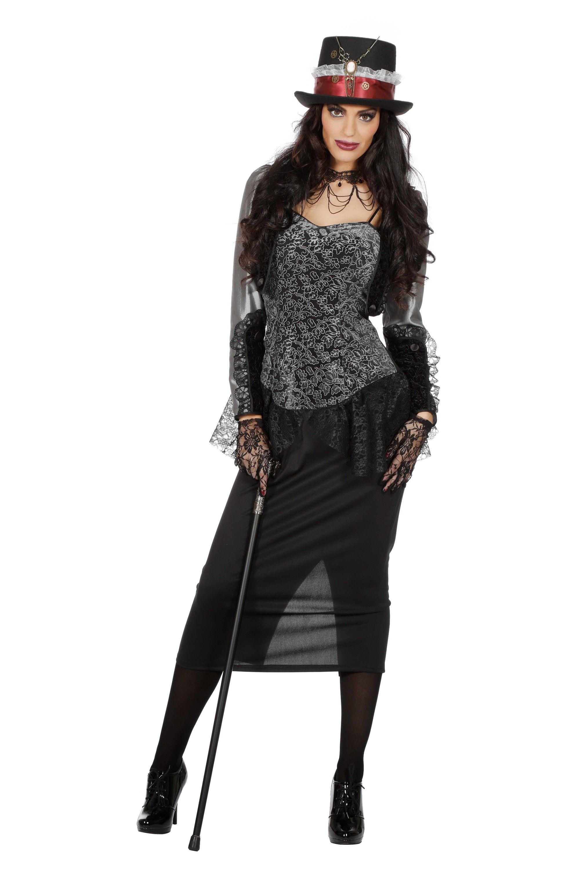 Victoria Londen Luxe Vrouw Kostuum