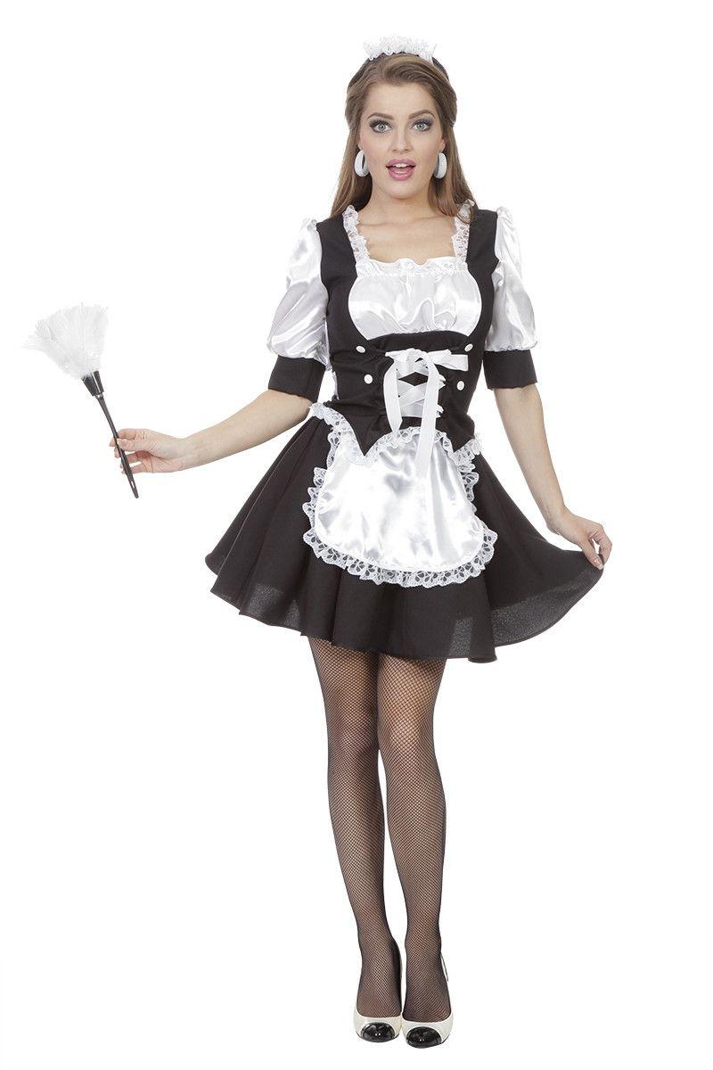Roomservice Hilda Hilton Vrouw Kostuum