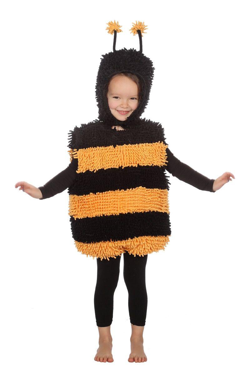 Zacht Zoemend Zwart Geel Bijtje Kostuum