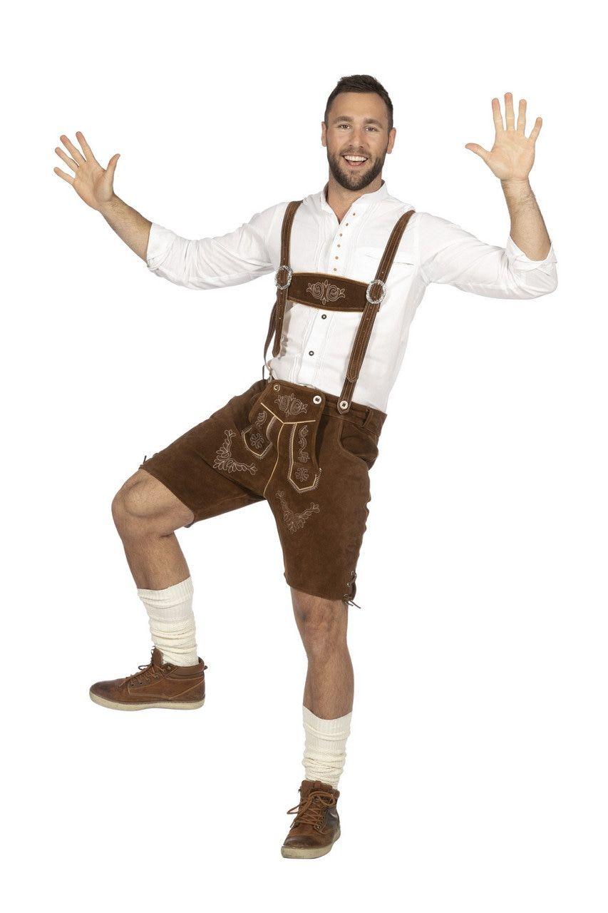 Bierfeest Lederhosen Heinz Hijs Man